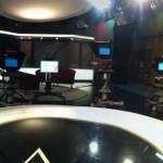 TV studio at Oxford Road