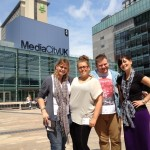 Manchester Airports Group Press Team, taken at Media City